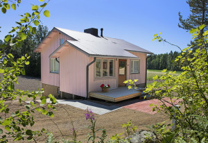 Villa Ebba holidayhouse in summer.