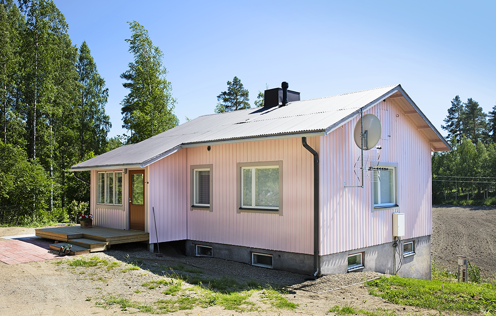 Villa Ebba holiday house in summer.