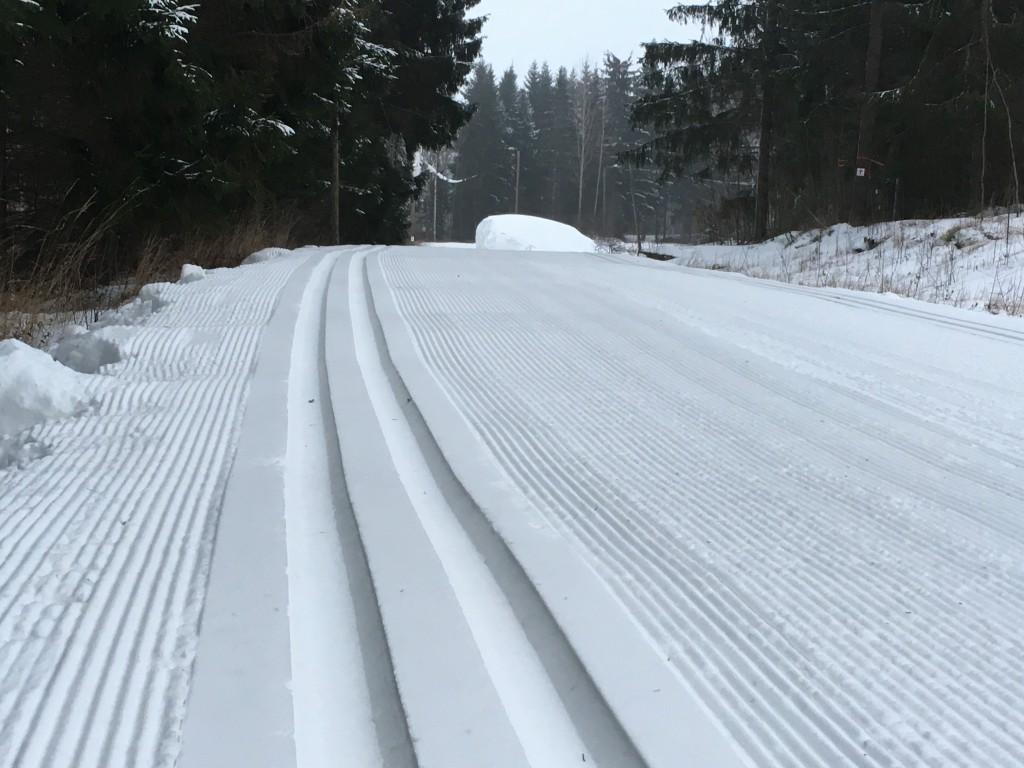 Hyvä on hiihtäjän hiihdellä